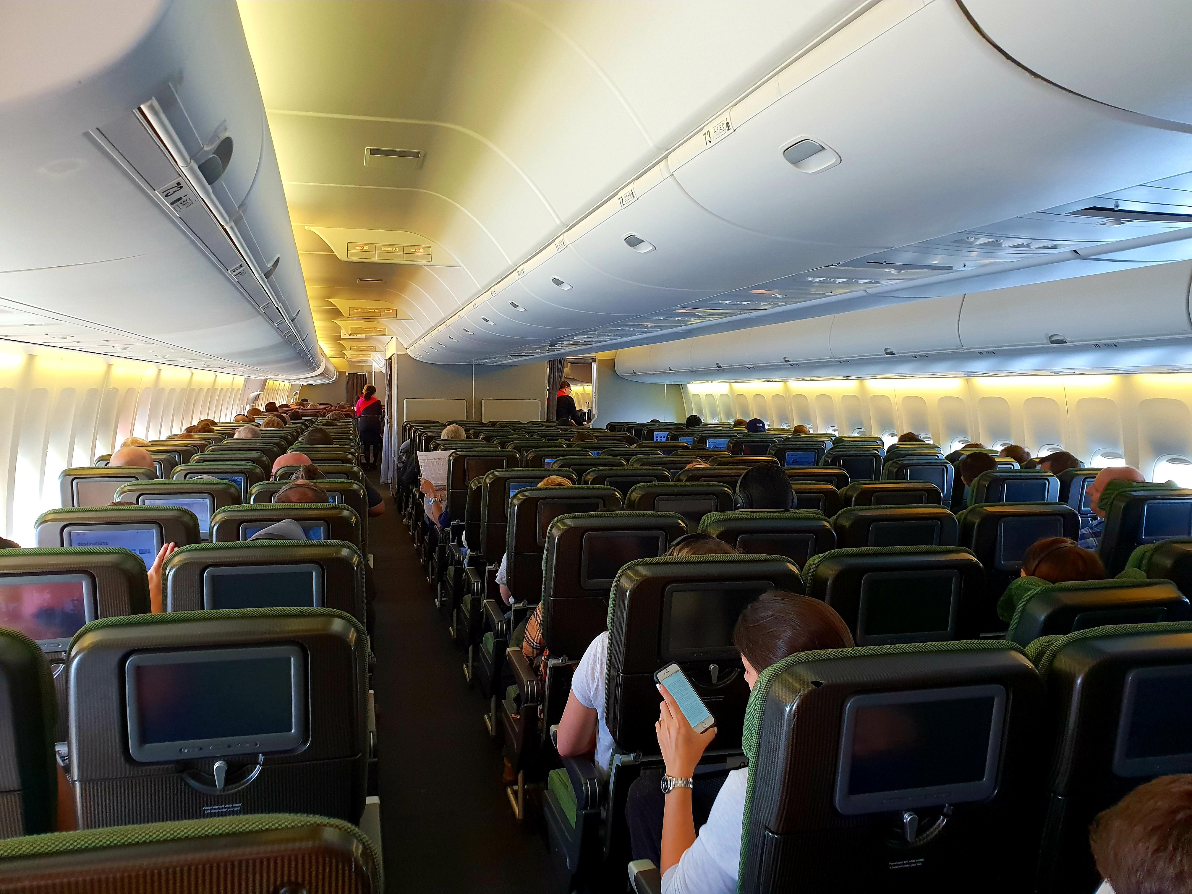 Inside Boing 747