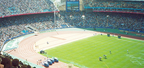Stadium Australia, Olympic Games 2000