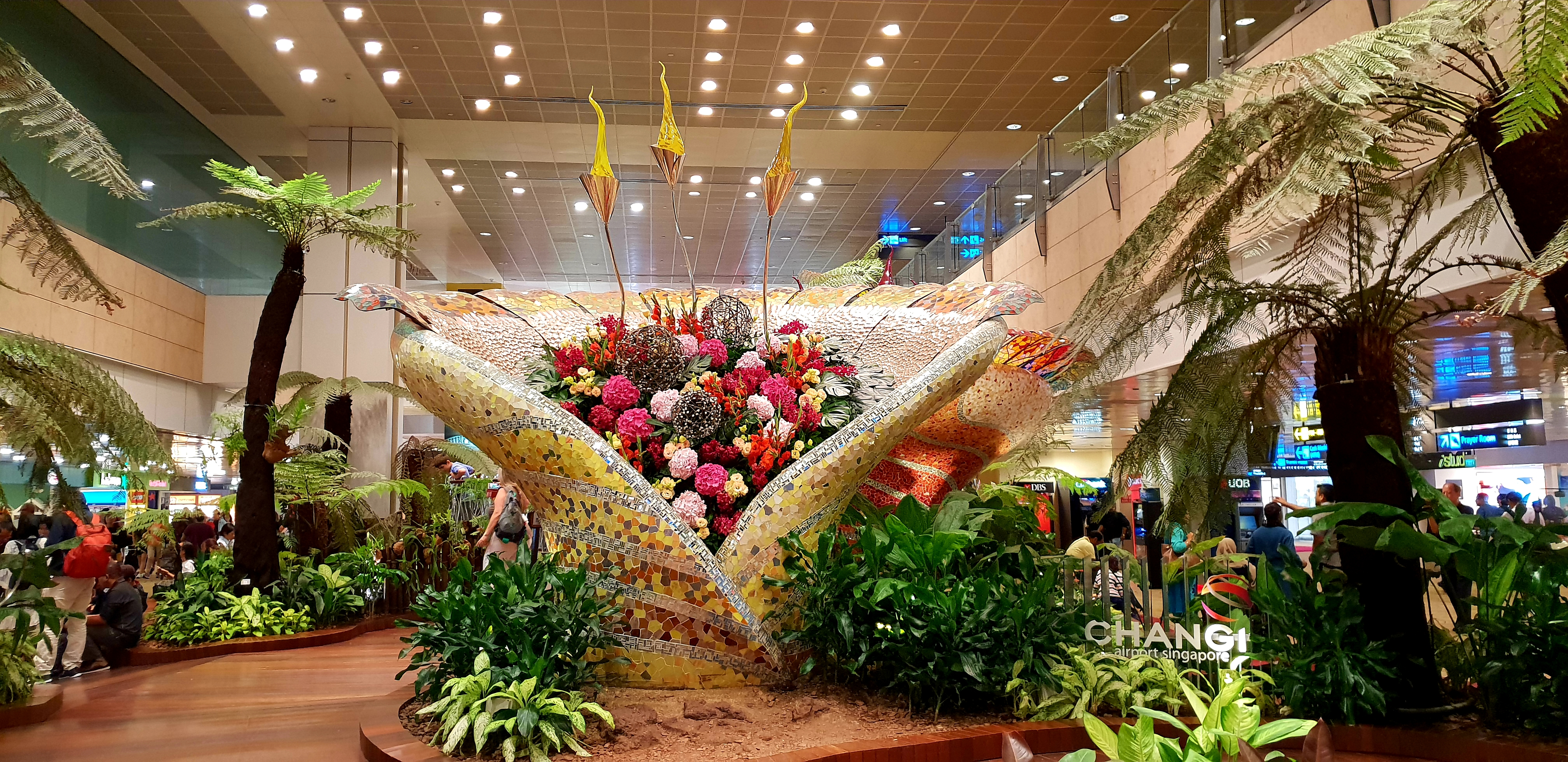 Changi Airport Enchanted Garden