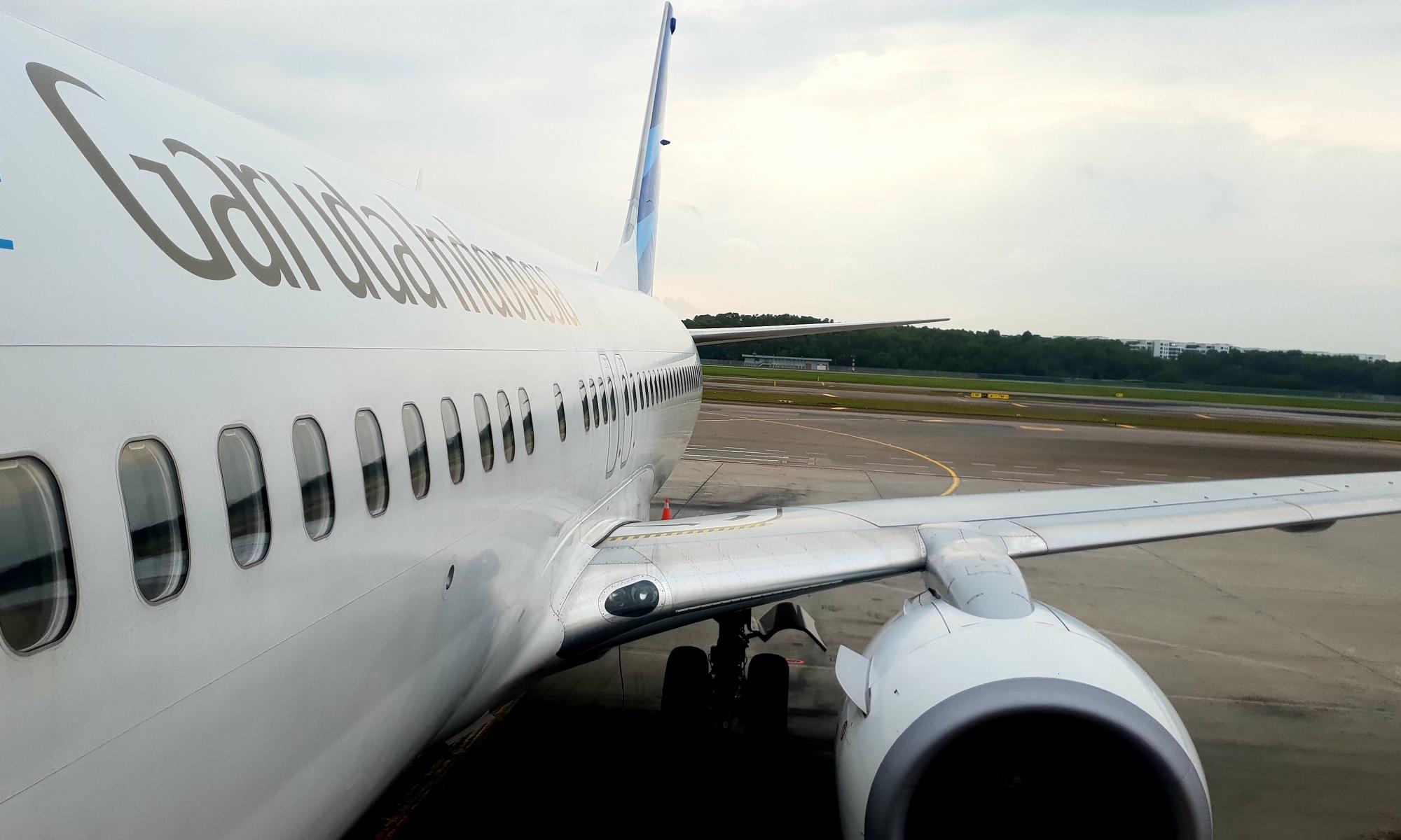 Garuda Airline, Boeing 737-800