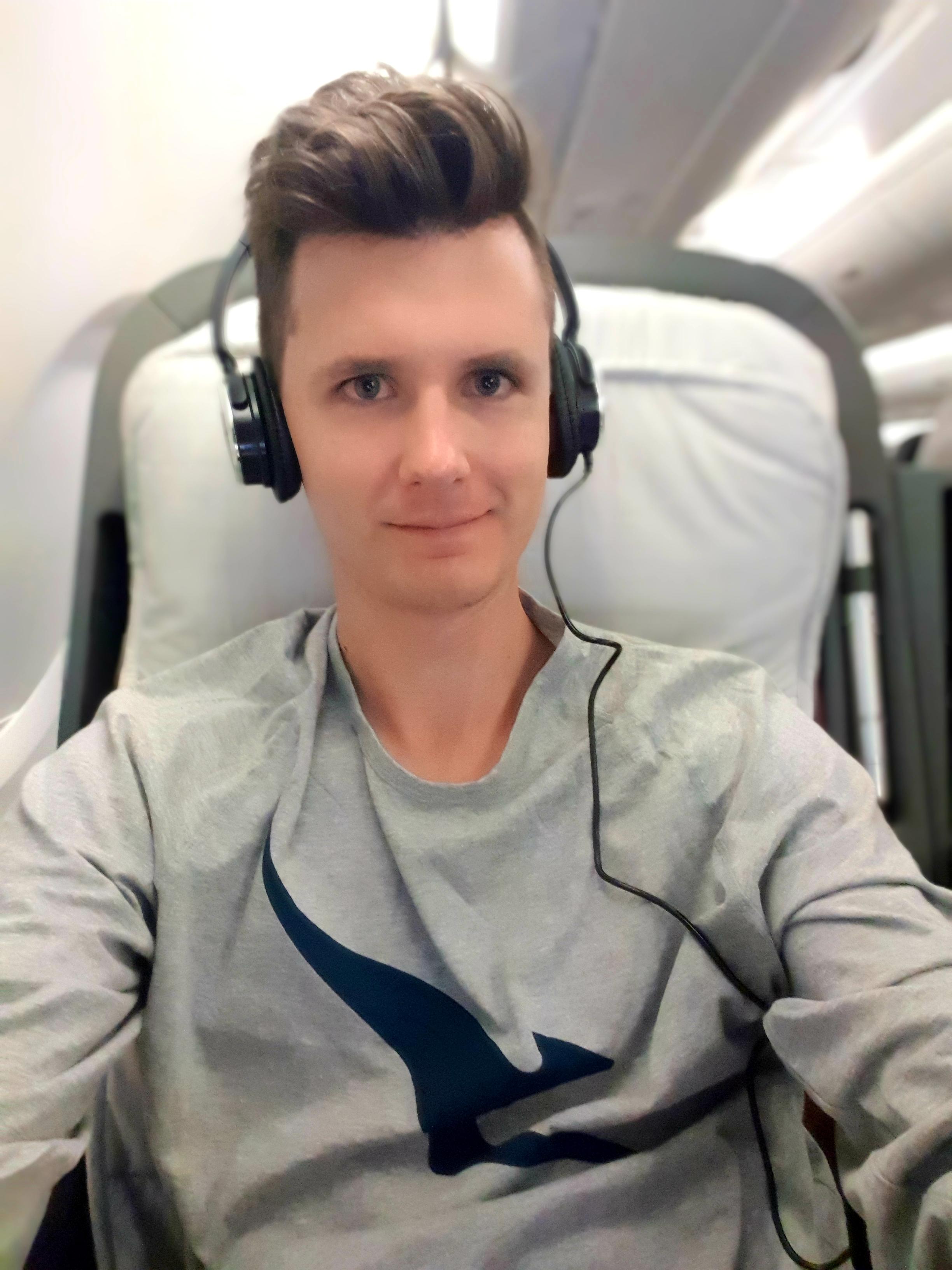 Qantas Pajamas