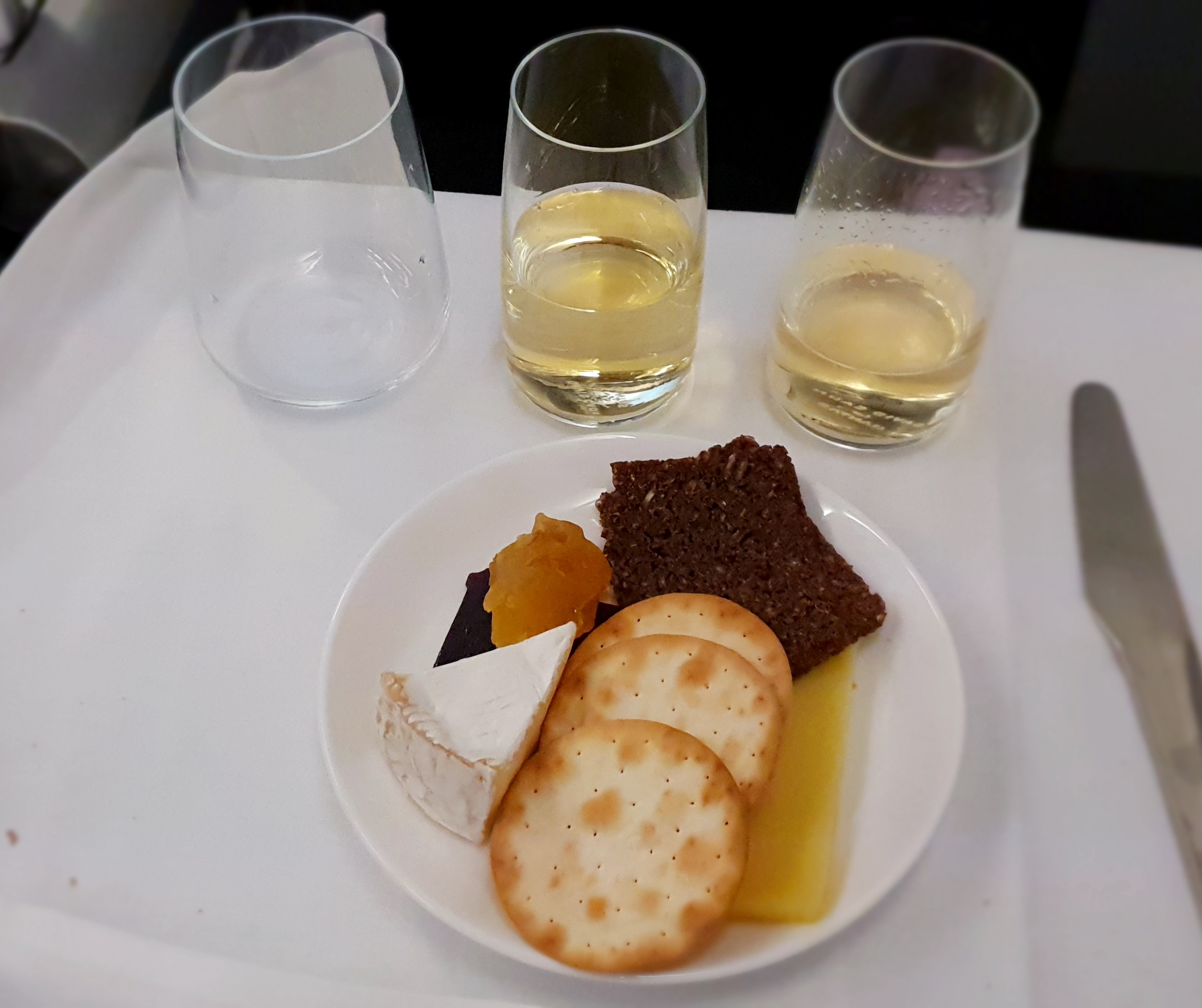 Qantas Cheese and Crackers